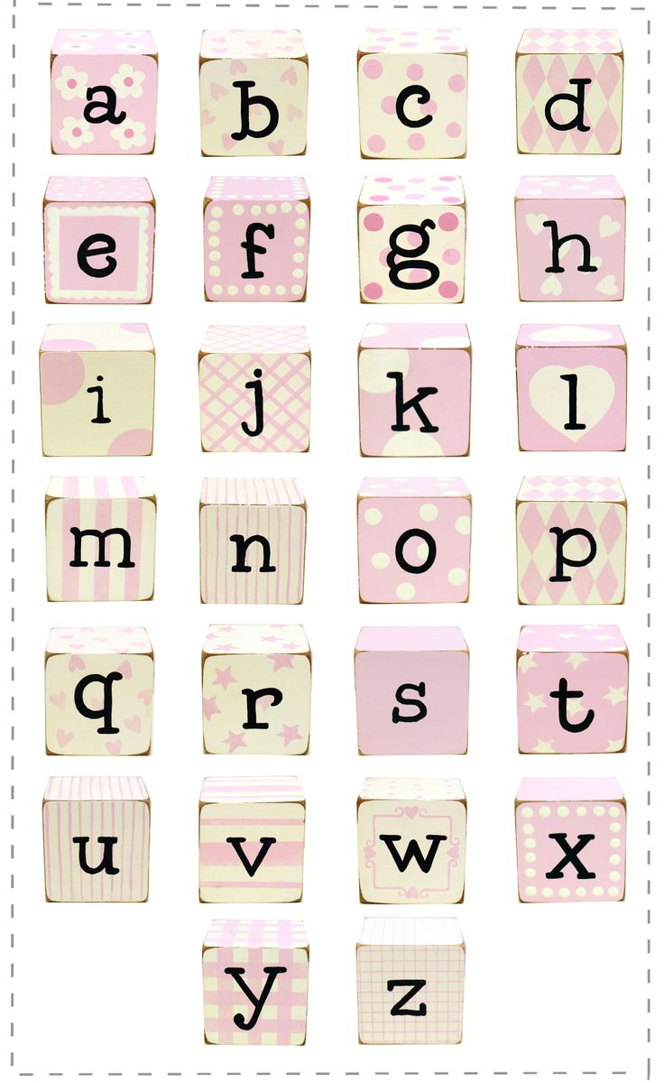 Pink Block Letters Maybe For Elliot S Shadow Box Baby