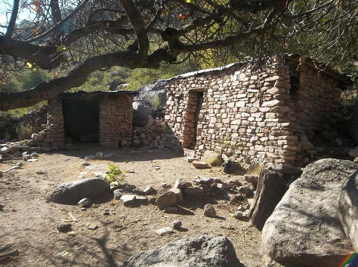 Antiguo rancho. Olta. La Rioja. Argentina
