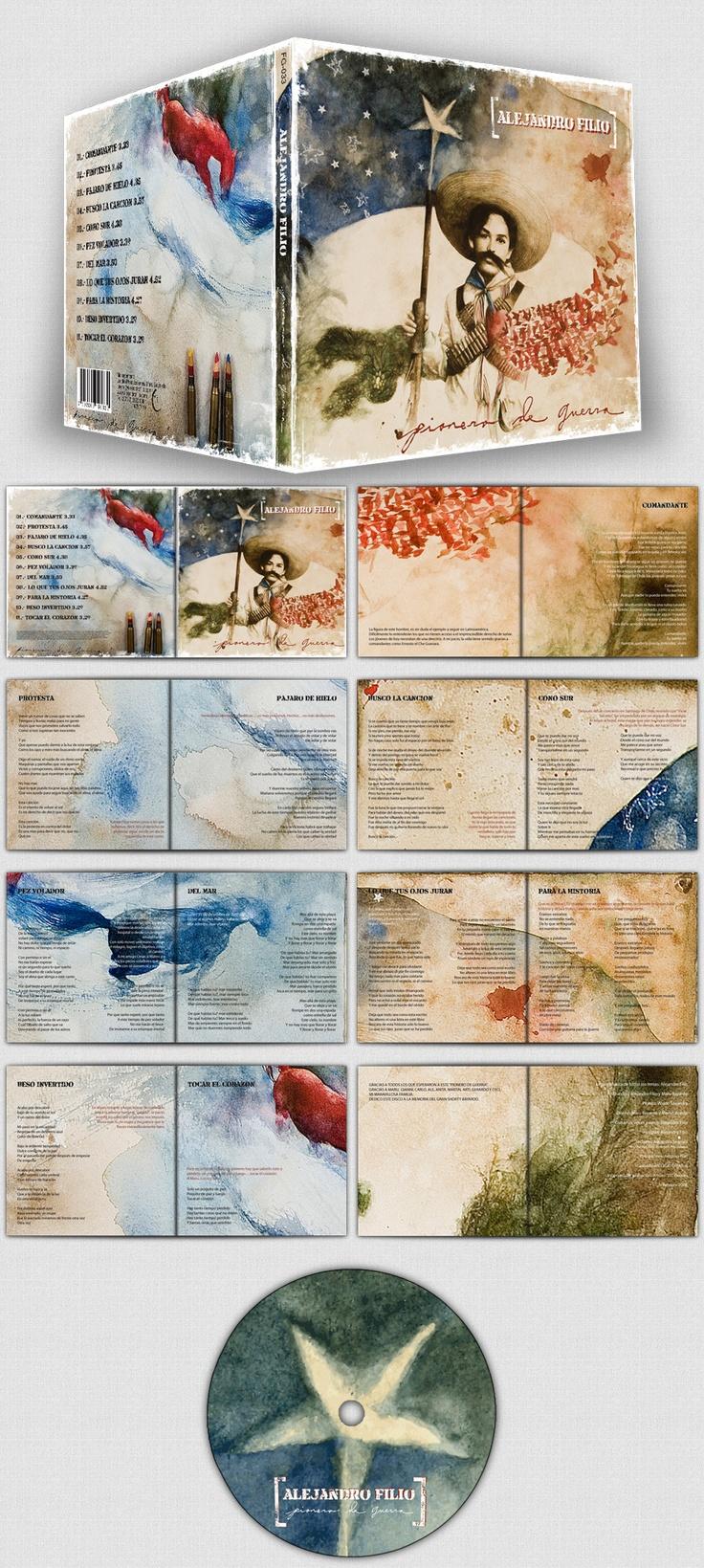CD Design Alejandro Filio - Pionero de Guerra