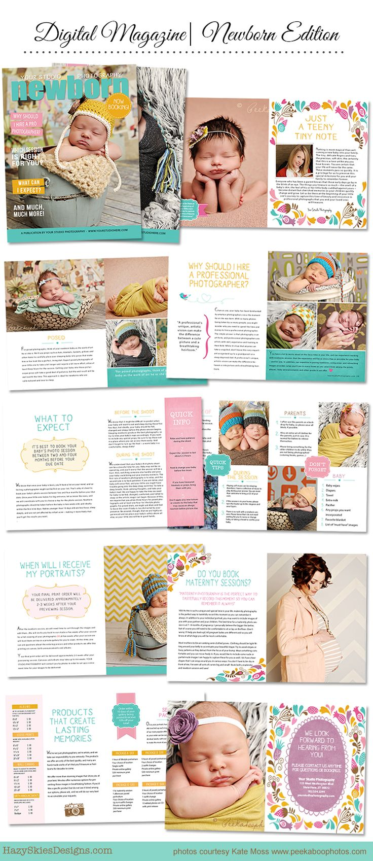 Newborn Digital Magazine idea