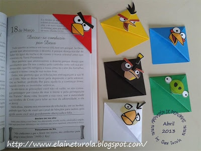 Tutorial Bookmarks Angry Birds