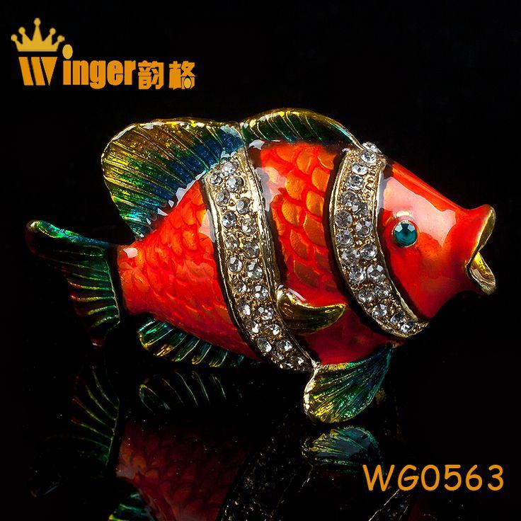 How To Make Decorated Fishing Urn Custom 46 Best Fish Trinket Box Decoration Images On Pinterest  Decor Design Inspiration
