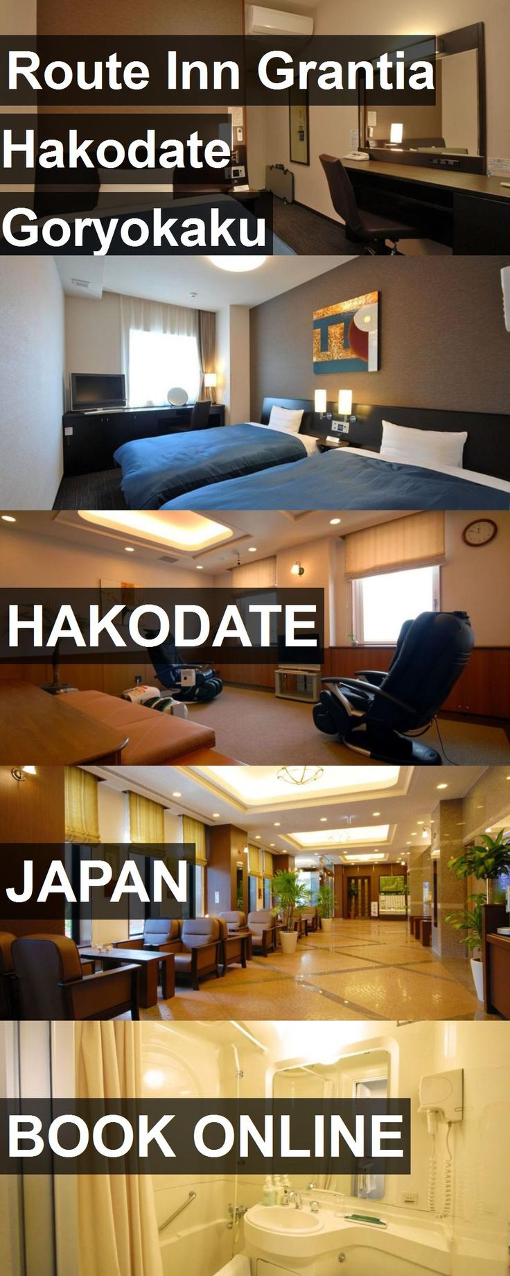 Hotel Route Inn Grantia Hakodate Goryokaku in Hakodate, Japan. For more information, photos, reviews and best prices please follow the link. #Japan #Hakodate #travel #vacation #hotel