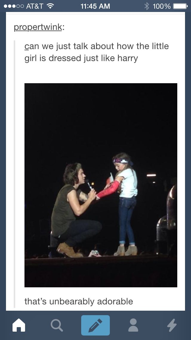 Imagine You And Your 7 Year Old Daughter Surprise Harry At