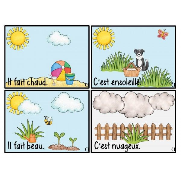 Météo et saisons
