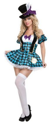 Costume Ideas for Women: Top Five Mad Hatter Costumes for Women (Alice in Wonderland)
