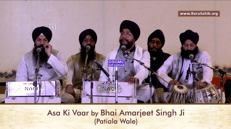 Sant Samagam Baru Sahib 2016 - Asa Ki Vaar by Bhai Amarjeet Singh Ji (Patiala Wale)