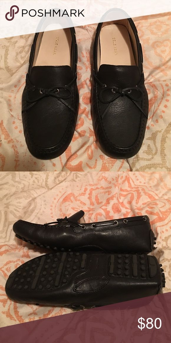 Cole Haan loafers Size 8.5 cole haan drivers , just bought them and worn one time . Cole haan drivers are the most comfortable shoe ! These are perfect for work or just a day out . Cole Haan Shoes Flats & Loafers