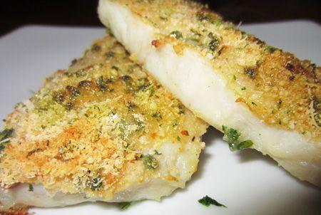 Filetti di merluzzo con panatura aromatica