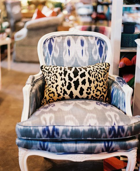 Animal Print Pillow Photos Leopards, Chairs and Design