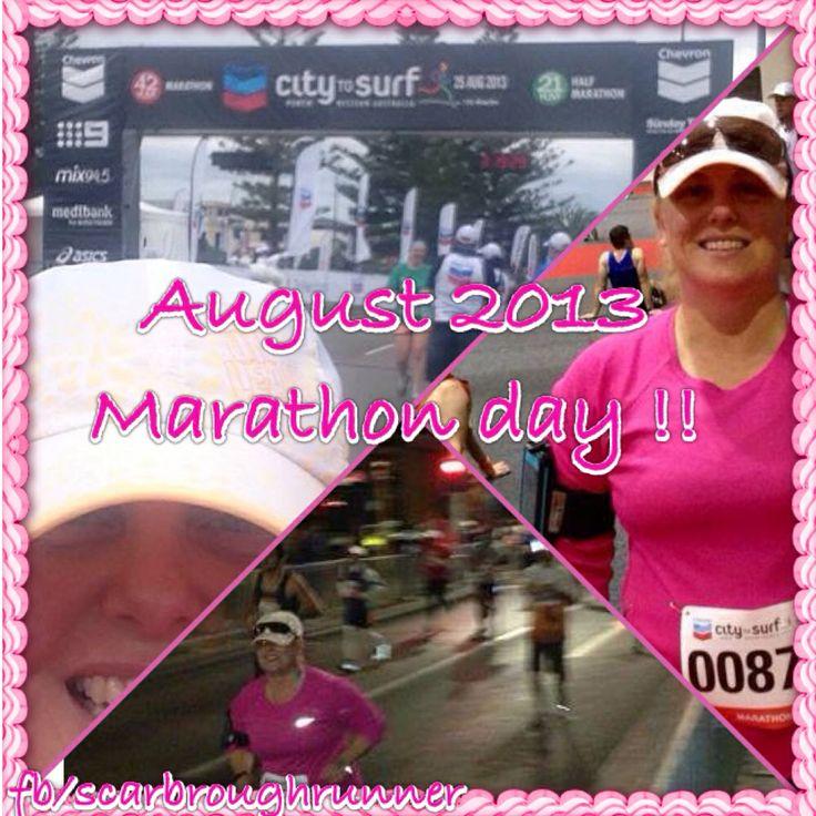 August 2013 My 2nd marathon