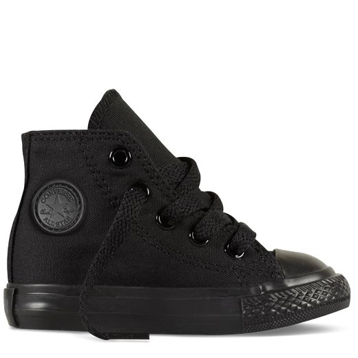 All-Black Chuck Taylor Baby Shoes : Baby Converse Shoes | Converse.com