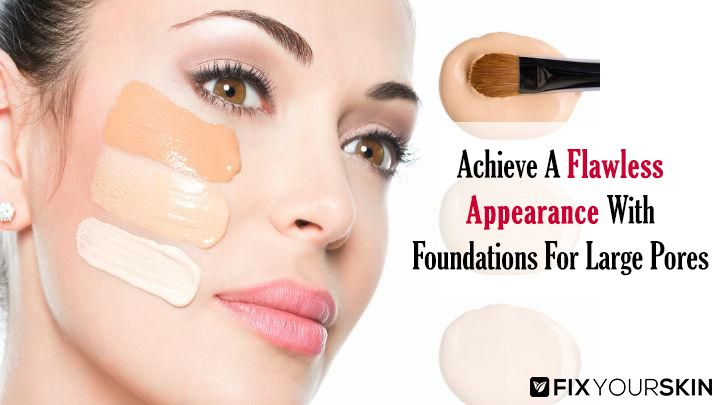 When it comes to natural beauty, one of the problems encountered by women is having large pores and getting the best foundation for large pores. Pores are usually located in your cheeks, chin areas, and more often, around your nose.   #FoundationForLargePores #Foundation #Pores #Skincare #Beauty #FixYourSkin #Cosmetics
