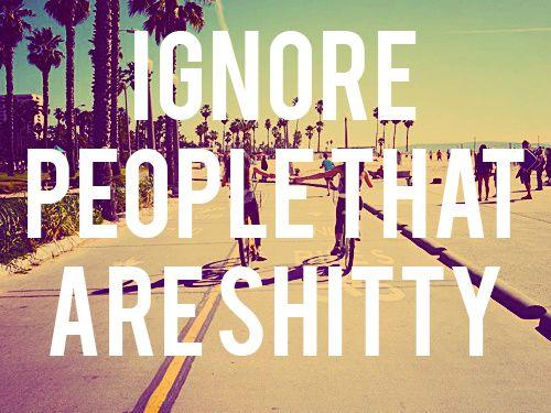 Best advice I've heard all day.