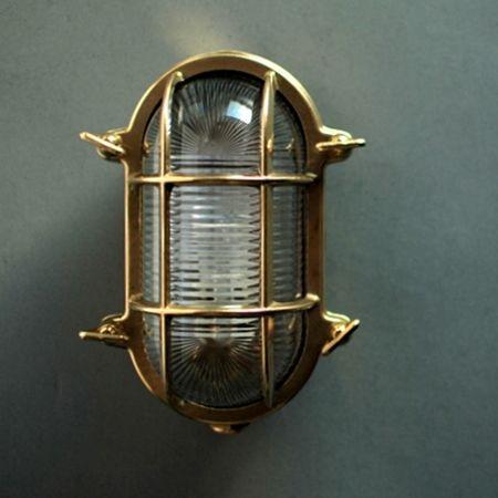 Zdjęcie Lampa Turtle Brass