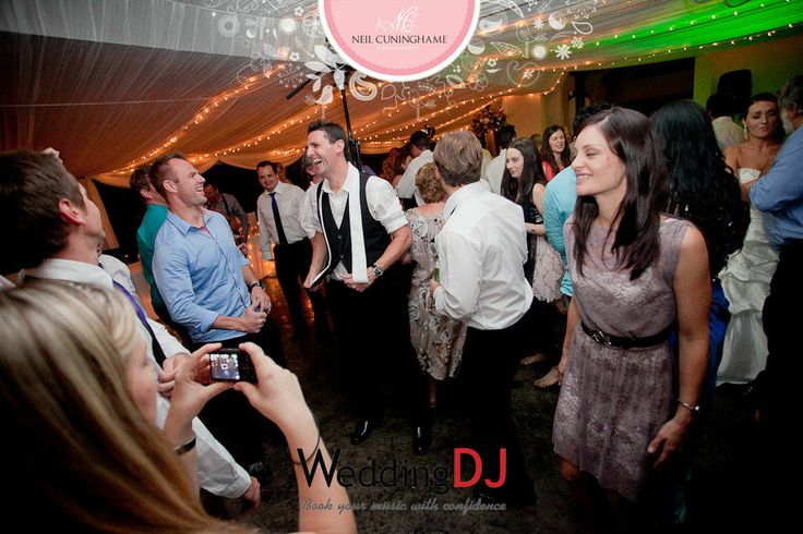 The Wedding DJ - In Action