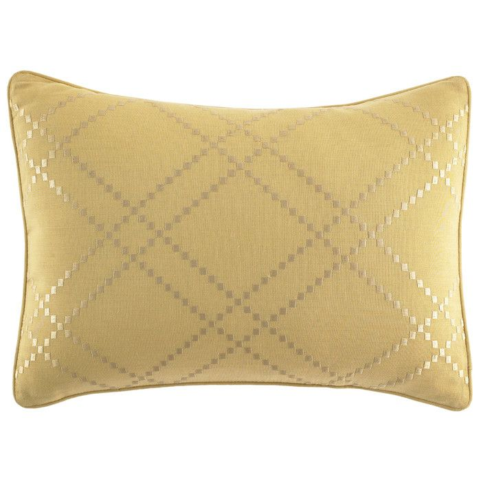 You'll love the Daintree Tropic Ochre Diamond Percale Cotton Breakfast Pillow at Wayfair - Great Deals on all Bed & Bath  products with Free Shipping on most stuff, even the big stuff.