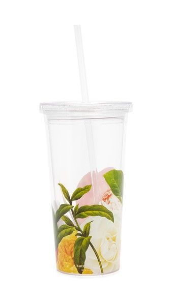 Kate Spade New York Floral Insulated Tumbler