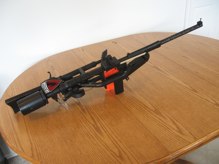 Nerf Sniper Avec Lunette : nerf sniper rifle has two settings shoots about 20 feet ~ Pogadajmy.info Styles, Décorations et Voitures