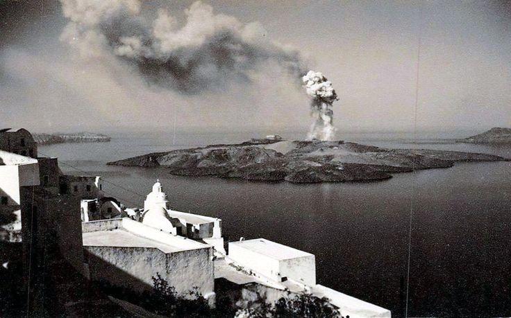 Σαντορίνη το ηφαίστειο, 1952