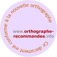 Le site www.orthographe-recommandee.info est un site qui explique les rectifications de l'orthographe et d'où viennent ces changements. Un site essentiel à tous les enseignants de français qui se demandent si «chevals» se dit vraiment!