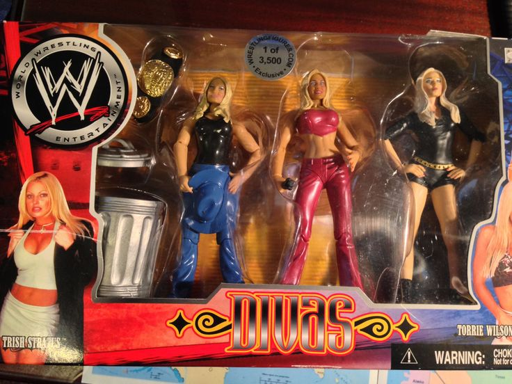 Wrestling Figurines WWF Wrestling Divas Collectibles 1 of 3500 | eBay