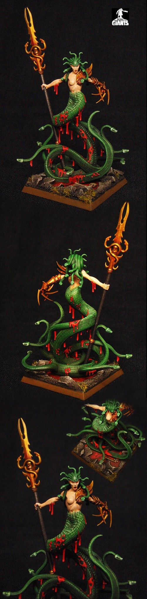 Dark Elves Bloodwrack Medusa