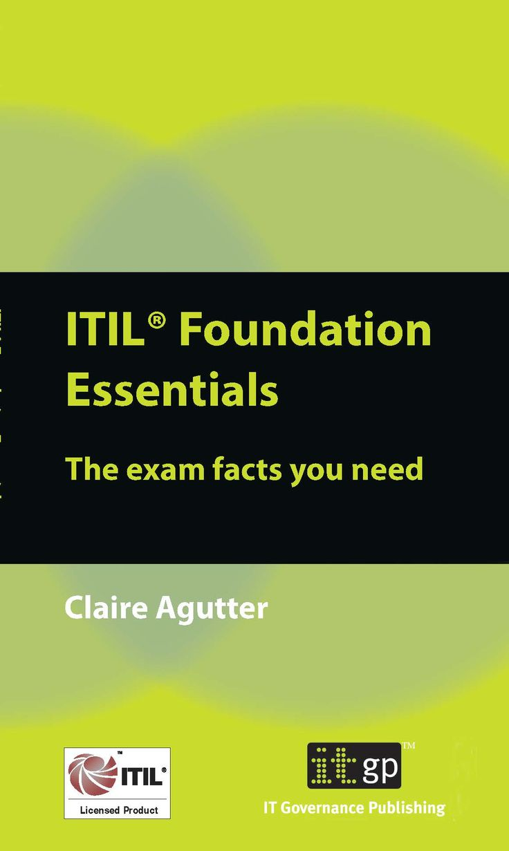 9 Best Itil Foundation Images On Pinterest Computer Science