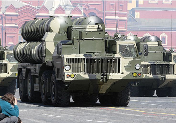 S-300 anti-aircraft missile system at a parade in Moscow Photo By: WIKIMEDIA COMMONS/WWW.KREMLIN.RU