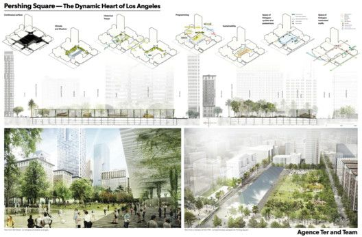 Agence TER with SALT Landscape Architects. Image © Pershing Square Renew