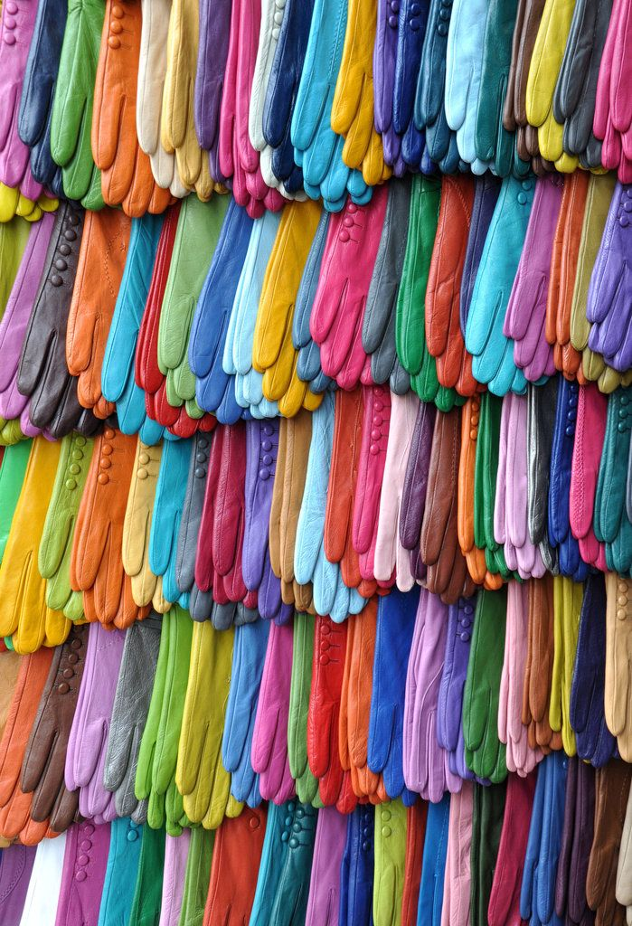 Gloves of Many Colors Photo by Kasia Krempa Yes, please.