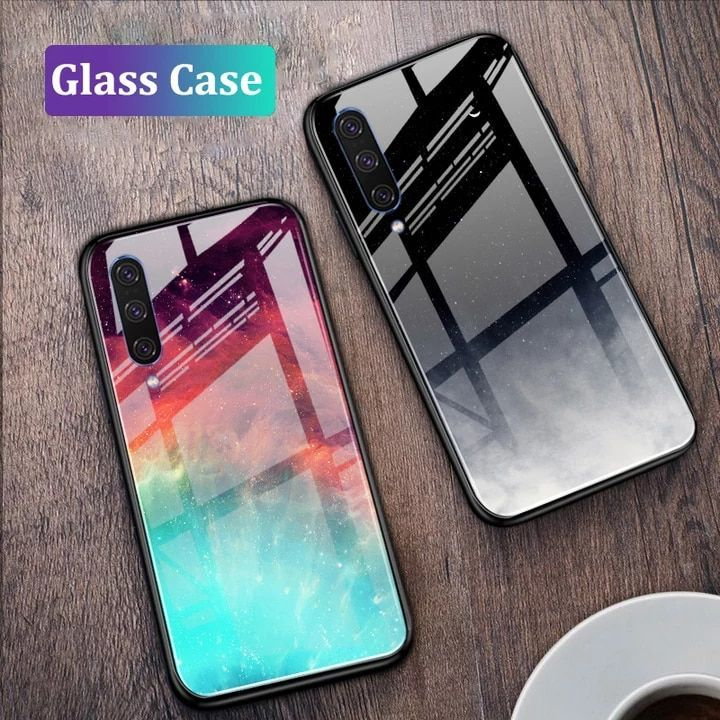 Us 3 99 Tempered Glass Case For Samsung A50 Gfaith Starry Sky Cover Design Deep For Galaxy A30s In 2020 Samsung Phone Cases Case