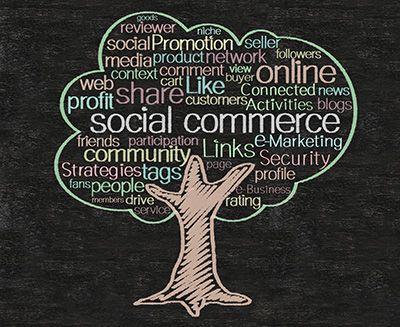 Il Social Commerce combina il tradizionale shopping on line con le dinamiche di condivisione ed interazione dei social media, in particolare Facebook.