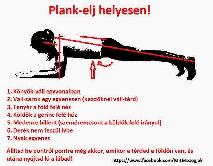 Minden felől azt hallod, hogy plank-plank-plank?     De tudod-e, hogy miért jó, és hogyan végezd, hogy tényleg jó legyen?           A Plank...