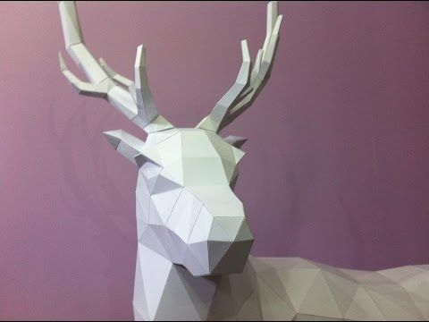 ▶ Making of a paper Stag - YouTube