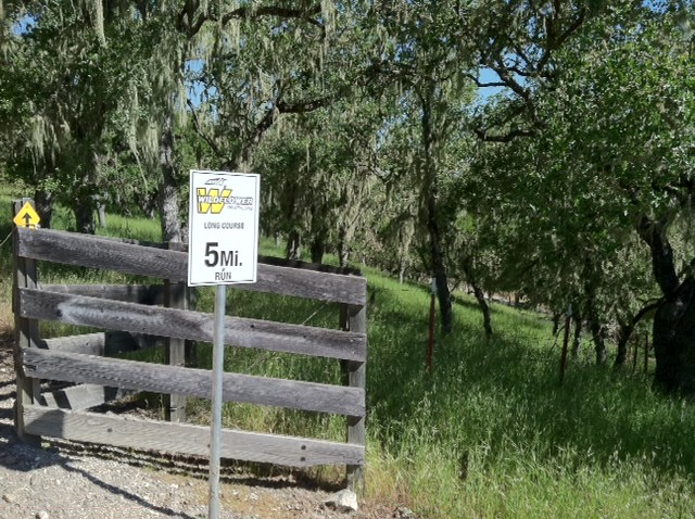 when you see this sign at Wildflower, you probably won't be smiling. Not a fun hill to 'run'