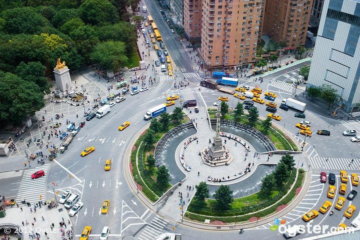 Mandarin Oriental, NYC (view of Columbus Circle & Central Park)