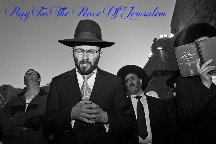 Please Pray For The Peace Of Jerusalem. Psalm 122:6