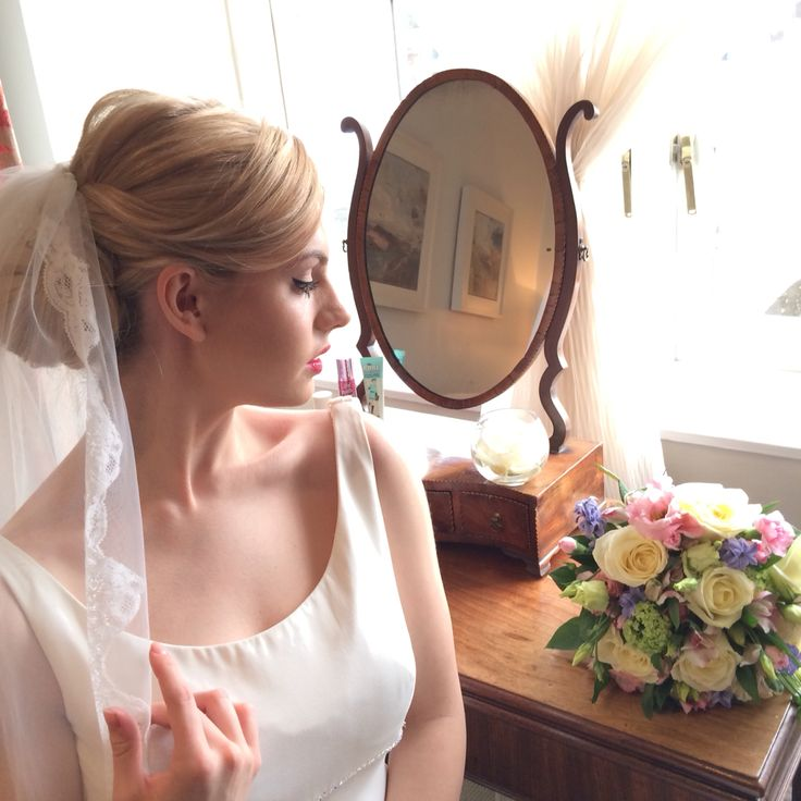 BTS Benefit bridal couture shoot. Sneaky snap