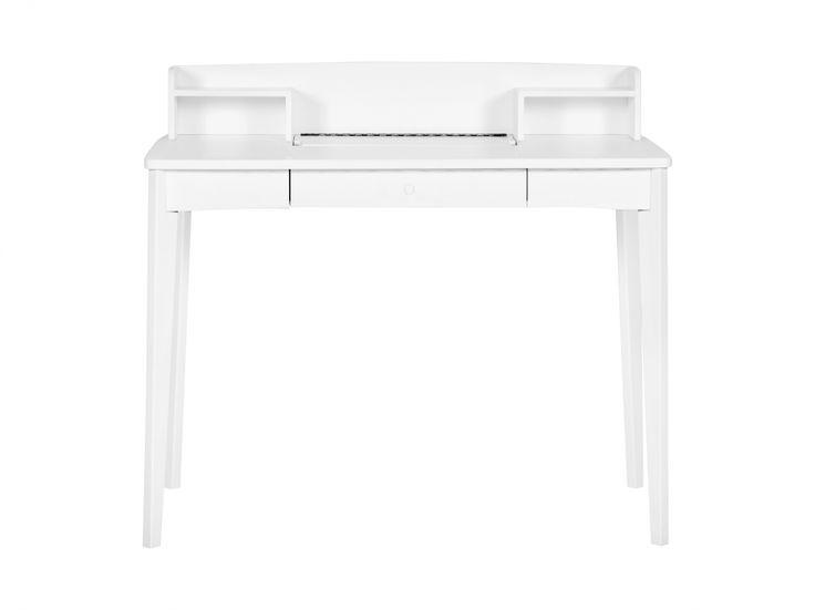 SIGRID Skrivbord 100 Vit i gruppen Inomhus / Kontor / Skrivbord hos Furniturebox (100-13-79363)