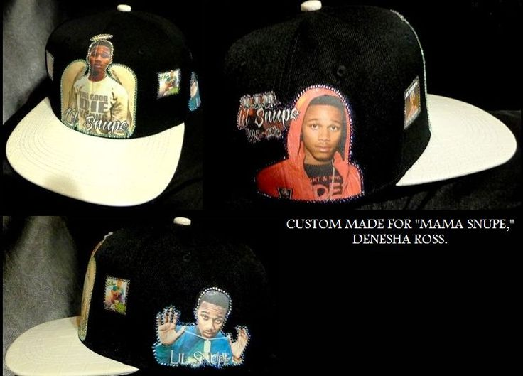 CUSTOM MADE FOR LIL SNUPE'S MAMA, DENESHA.