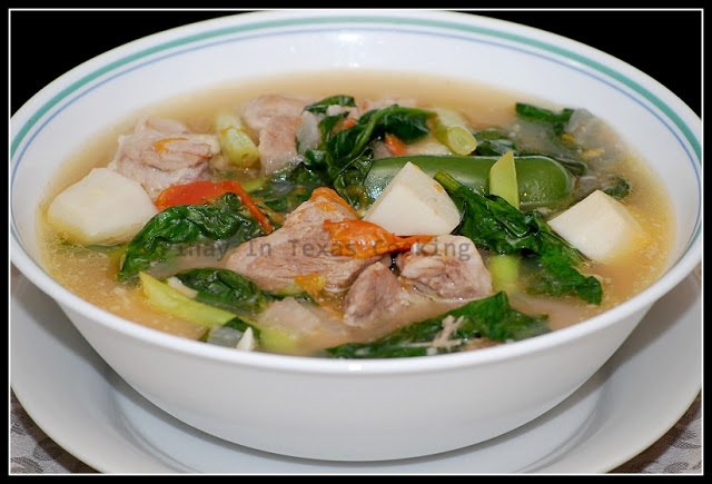 Pinay In Texas Cooking Corner: Sinigang na Baboy