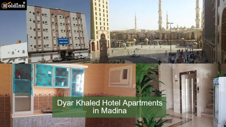 Dyar Khaled Hotel Apartments offers a comfortable setting when travel in Medina for Umrah. Dyar Khaled Hotel Apartments is within walking distance of Al-Baqi', Old Bazaar. Get More Deatail at https://goo.gl/uN785f #hoteldeals #hospitality #onlinehotelbooking #travel