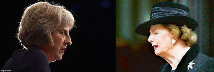 Theresa May, Margaret Thatcher look-alike
