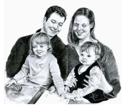 Portrait Drawing is so much  Easier | www.drawing-made-easy.com | #drawing