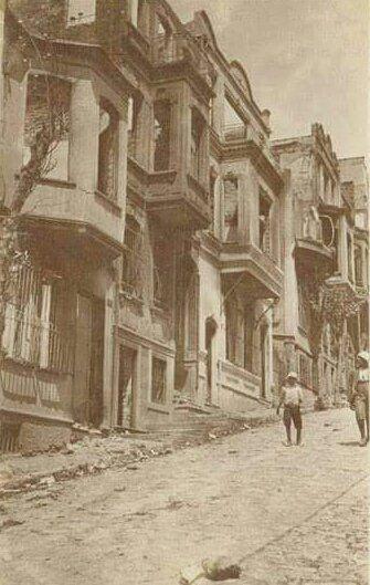 İşgal yıllarında Kadıköy, Yeldeğirmeni #istanlook #nostalji #birzamanlar