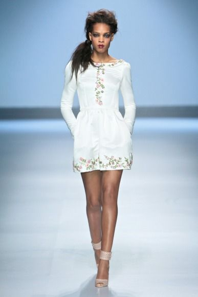 Abigail Betz collection at Mercedes-Benz Fashion Week Joburg 2014. Image by SDR Photo #MBFWJ