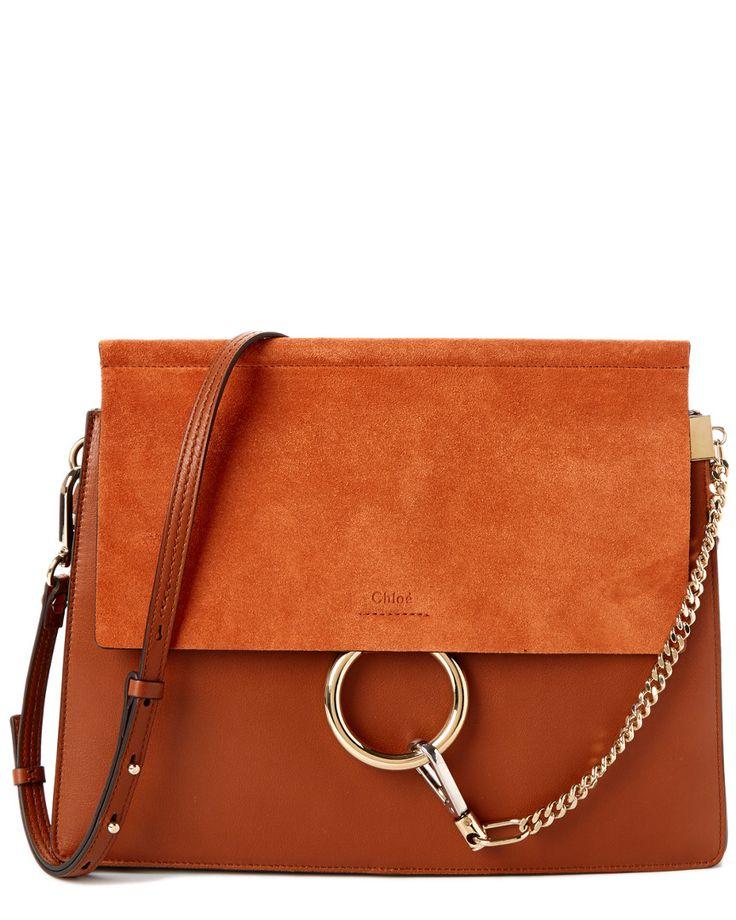 Chloe Faye Suede \u0026amp; Calfskin Medium Shoulder Bag is on Rue. Shop it ...