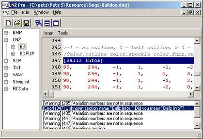 Sherlock Software: LNZ Pro
