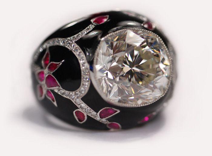 Cushion Cut Diamond Ring | Munnu The Gem Palace